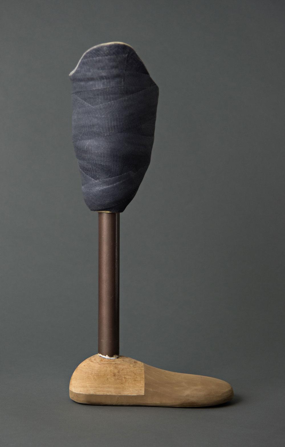 image of an prosthetic leg