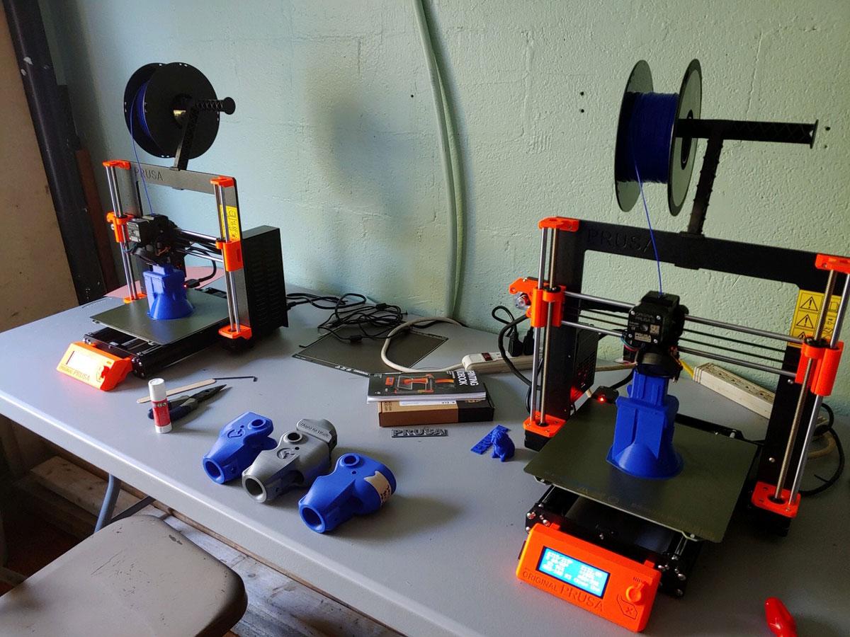 image of 3D printers